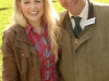 Les Davies with BBC's Countryfile's Ellie Harrison