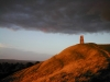 Sunset on Glastonbury Tor