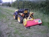Mower at Work
