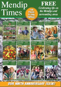 Mendip Times Cover June 2014