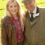 Les with Ellie Harrison from BBC's Countryfile