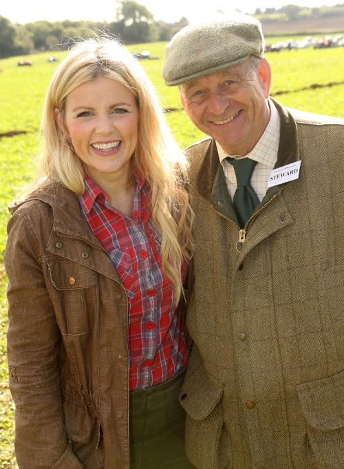 Les Davies with Ellie Harrison
