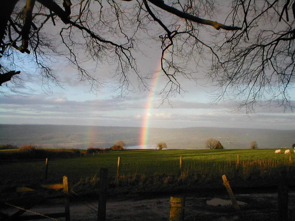 Rainbow in the Mendips