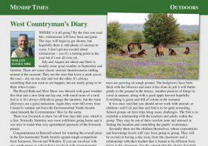 Mendip Times column for July 2016